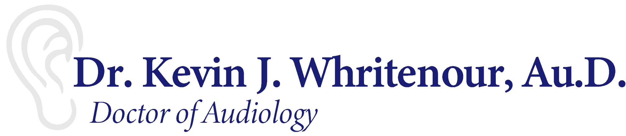 Dr. Kevin J. Whritenour, Doctor of Audiology